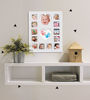 Afbeeldingen van Happy Hands Baby first year frame kit White