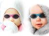 Afbeeldingen van Dooky BabyBanz sunglasses Pink Star
