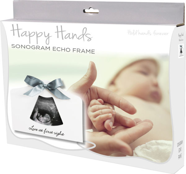 Picture of Happy Hands Sonogram Echo Frame