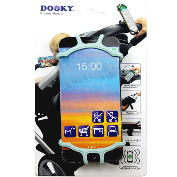 Afbeeldingen van Dooky Universal phone holder mint