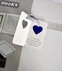 Afbeeldingen van Dooky Gift Set Handprint Double Frame White  & memory box