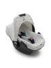 Afbeeldingen van Dooky Seat Cover 0+ Light Grey Crown